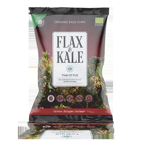Xips Kale Thai Bio (80 g) Flax & Kale