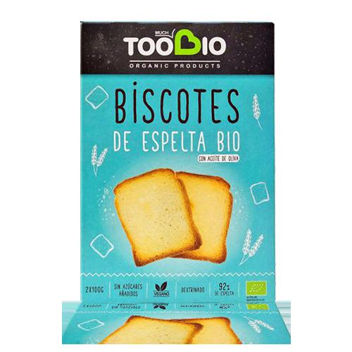 Biscot d'Espelta Bio (200 g) Toobio