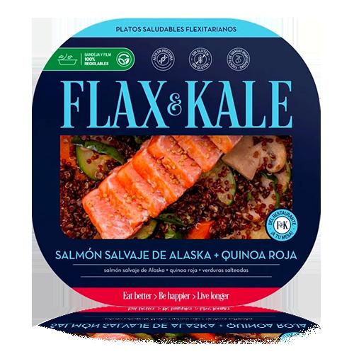 Salmón con Quinoa (275 g) Flax & Kale