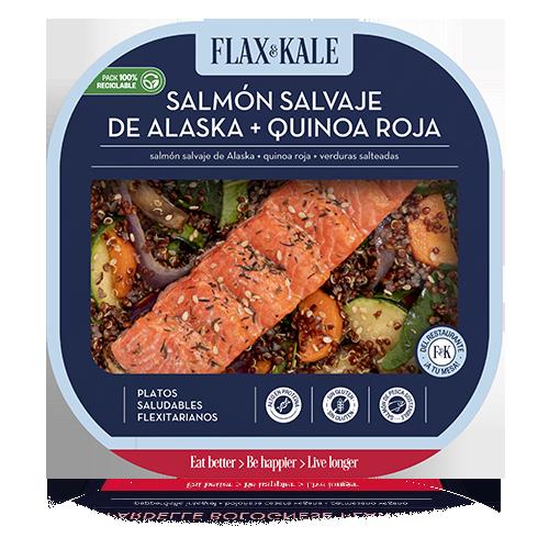Salmó amb Quinoa (275 g) Flax & Kale