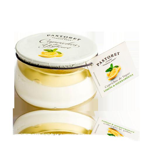 Capricho de Yogur Limón y Menta (150 g) Pastoret