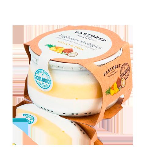 Yogur de Coco y Piña Bio (135 g) Pastoret