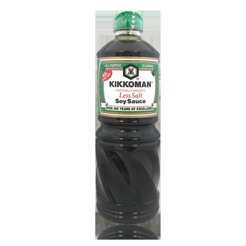 Salsa de Soja amb Menys Sal (1 L) Kikkoman