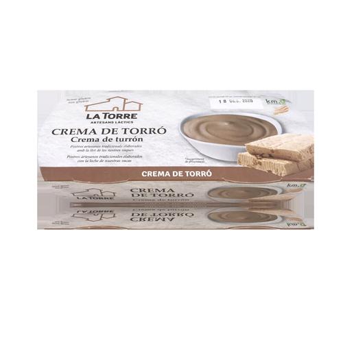 Crema de Torró Pack (2x130 g) La Torre