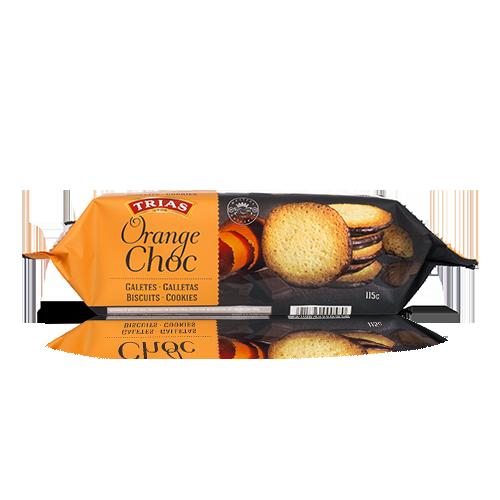 Teules Xocolata i Taronja (115 g) Trias