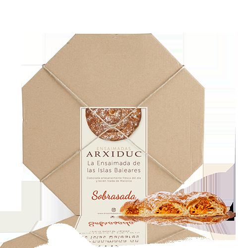 Ensaïmada Sobrassada (500 g) Arxiduc