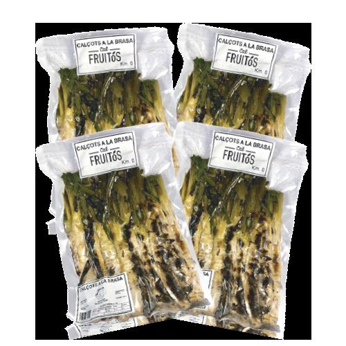 Pack 4 u. Calçots a la Brasa (450 g) Cal Fruitós