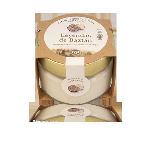 Crema de Formatge d'Ovella amb Tòfona (100 g) Leyendas del Baztán