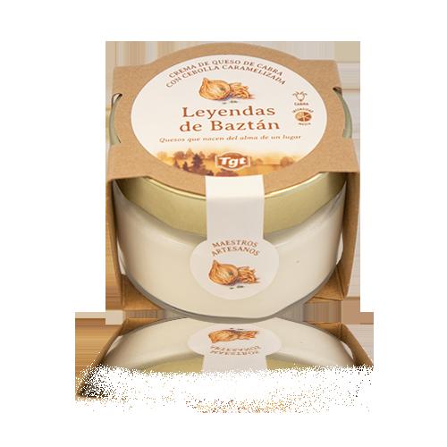 Crema de Formatge de Cabra amb Ceba Caramel·litzada (100 g) Leyendas del Baztán