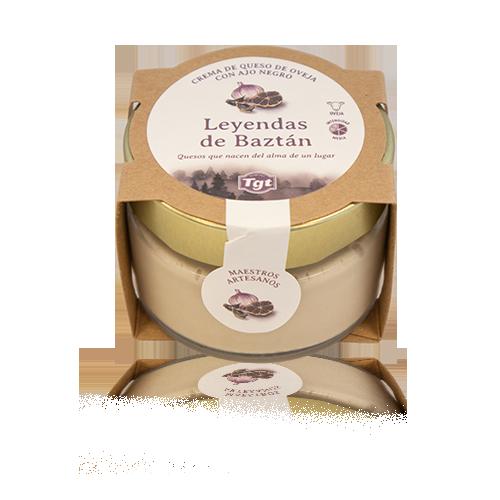 Crema de Formatge d'Ovella amb All Negre (100 g) Leyendas del Baztán