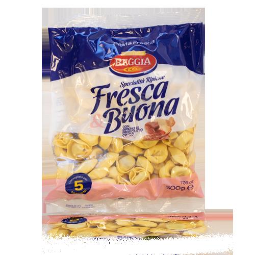 Pasta Fresca Tortellini al Prosciutto (500 g) Reggia