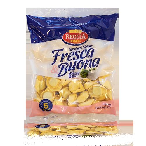 Pasta Fresca Tortellini Ricotta & Spinaci (500 g) Reggia