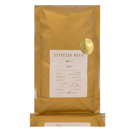 Café en Grano Brasil (1 kg) Espresso Mafia - Cal Fruitós