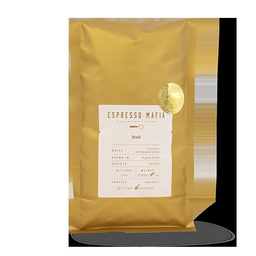 Cafè en Gra Brasil (1 kg) Espresso Mafia - Cal Fruitós