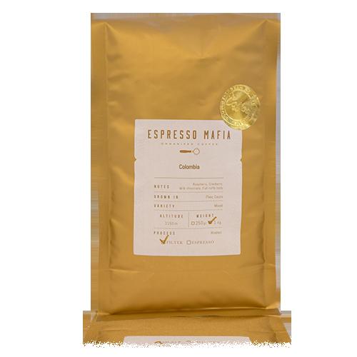 Café en Grano Colombia (1 kg) Espresso Mafia - Cal Fruitós