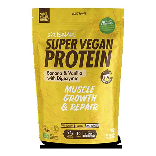 Proteïna Banana i Vainilla Bio (350 g) Iswari