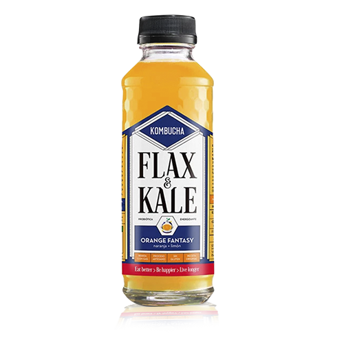 Kombutxa Orange Fantasy (400 ml) Flax and Kale