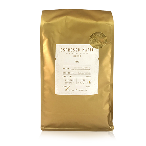 Café en Grano Perú (1 kg) Espresso Mafia - Cal Fruitós