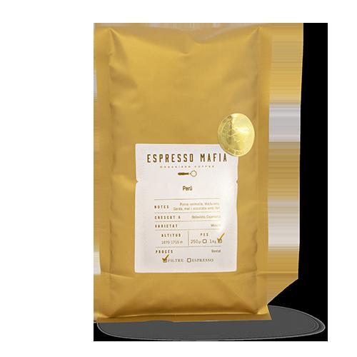 Cafè en Gra Perú (1 kg) Espresso Mafia - Cal Fruitós