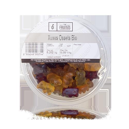 Chuches Ositos 100% Vegetales Bandeja (200 g)