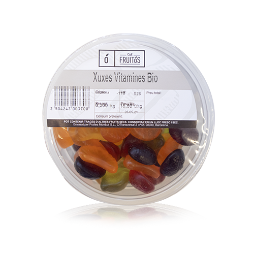 Chuches Vitaminas Bandeja (200 g)