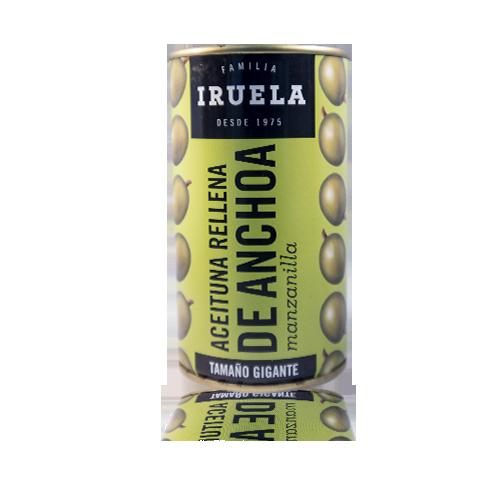 Olives Farcides d'Anxova (360 g) Cal Fruitós