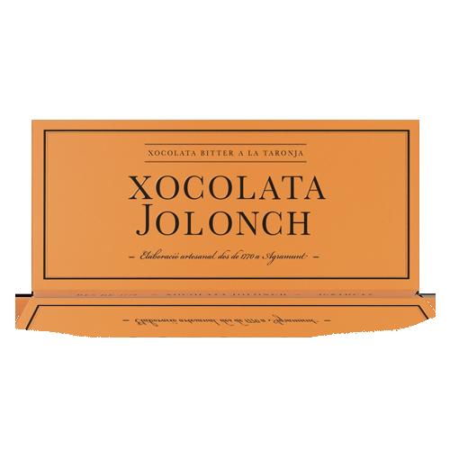 Xocolata Bitter Taronja (100 g) Jolonch