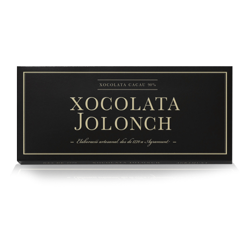 Xocolata Cacau 90% (100 g) Jolonch