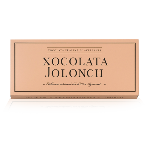 Chocolate Praliné Avellanas (100 g) Jolonch