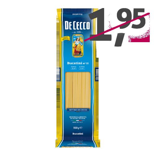 Bucatini nº15 (500 g) De Cecco