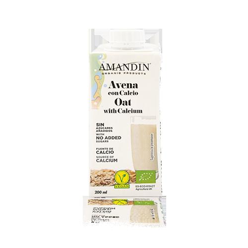 Beguda de Civada amb Calci Bio (200 ml) Amandin