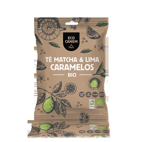 Caramelos Macha y Lima Bio 75g Ecocanem