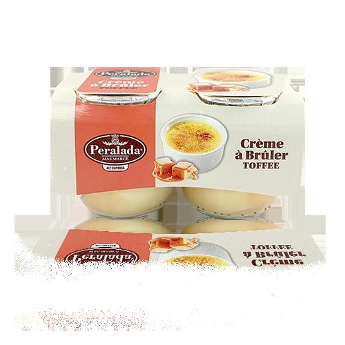 Crème à Bruler Toffee 2x100g Peralada