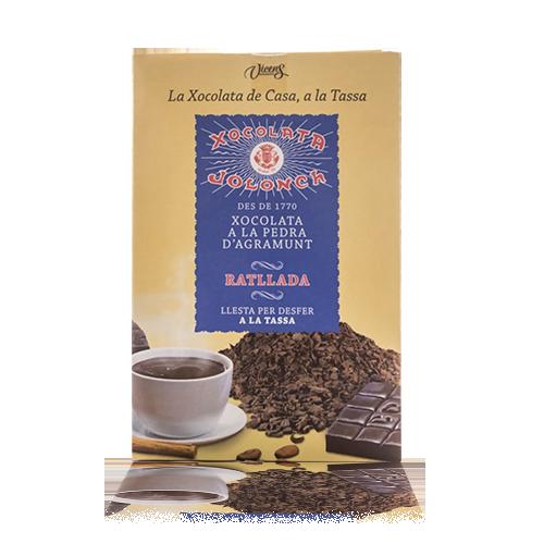 Xocolata Ratllada a la Tassa a la Pedra 300g Jolonch