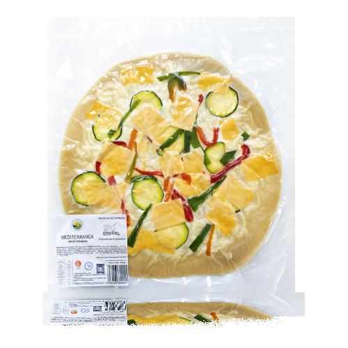 Pizza Mediterrànea 400g Borbonia