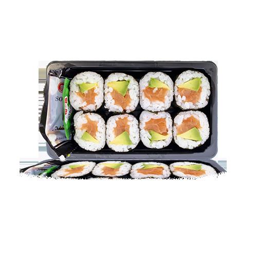 Sushi Maki d'Alvocat i Salmó 8u