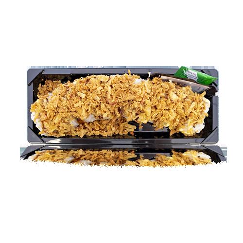 Sushi Drac Califòrnia de Salmó, Alvocat i ceba fregida 8u
