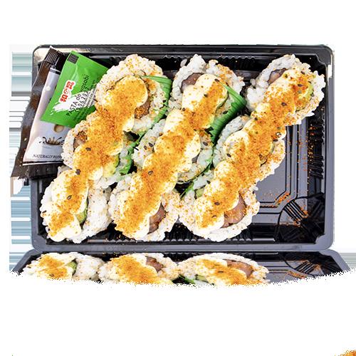 Sushi California Picant de Salmó i Alvocat 9u