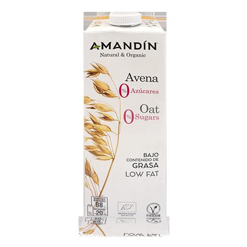 Beguda de Civada 0% Sucres Bio 1L Amandin