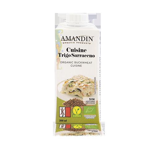 Cuisine de Trigo Sarraceno Bio 200ml Amandin