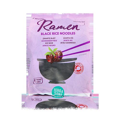 Noodles per Ramen Arròs Negre Bio 280g Terrasana