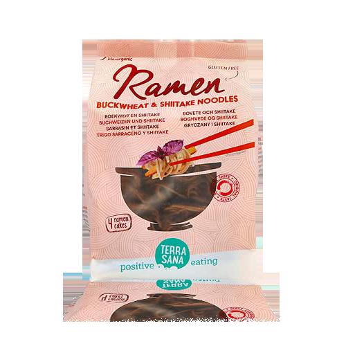 Noodles per Ramen Blat Sarraí i Xiitake Bio 280g Terrasana