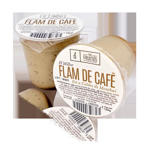 Flam de Cafè Pack 2u x 130g Cal Fruitós