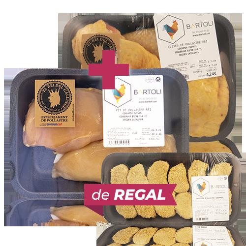 Pack Cuixa + Pit Sencer + de Regal Nuggets de Pollastre
