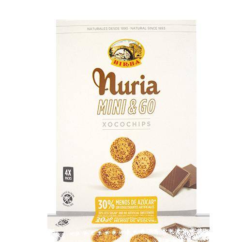 Galeta Mini & Go Xocoxips 200g Nuria-Birba