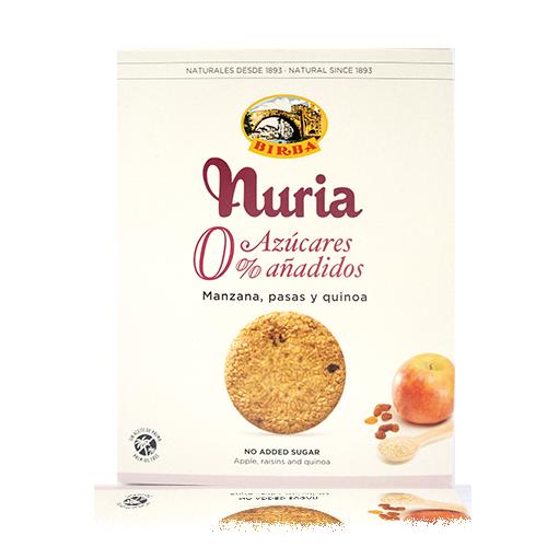 Galeta 0% Poma i Quinoa 270g Nuria-Birba