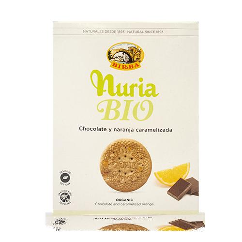 Galeta Xocolata i Taronja Bio 280g Nuria-Birba