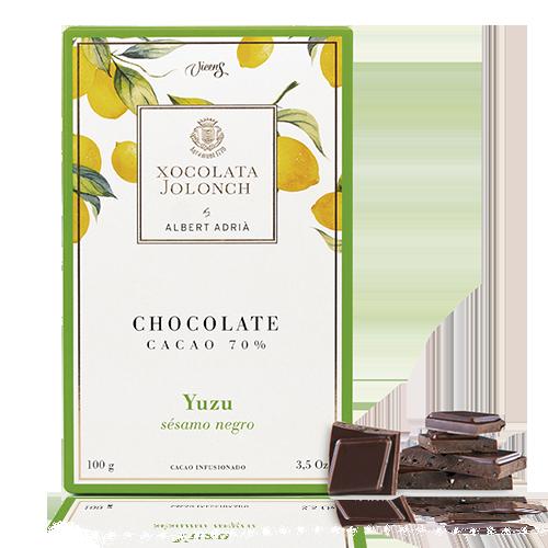 Chocolate Yuzu y Sésamo 70% 100g Jolonch-Vicens Albert Adrià