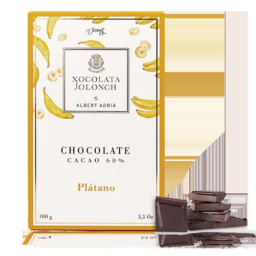 Chocolate Plátano 60% 100g Jolonch-Vicens Albert Adrià