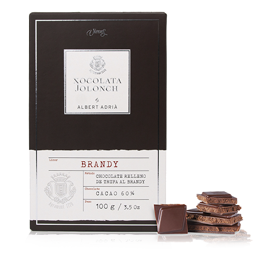 Chocolate Brandy 60% 100g Jolonch-Vicens Albert Adrià